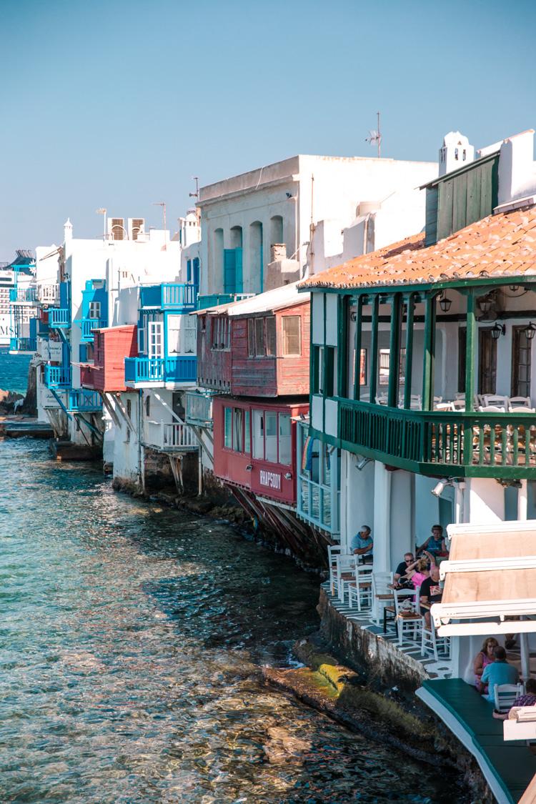 Mykonos blues, Greece