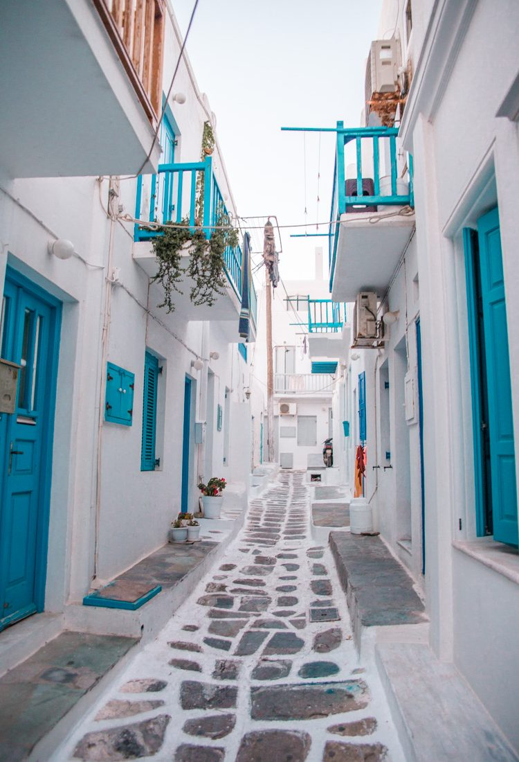 Mediterranean Cruise Day One: Mykonos