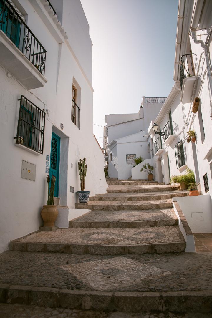 Frigilliana in Andalusia, Spain