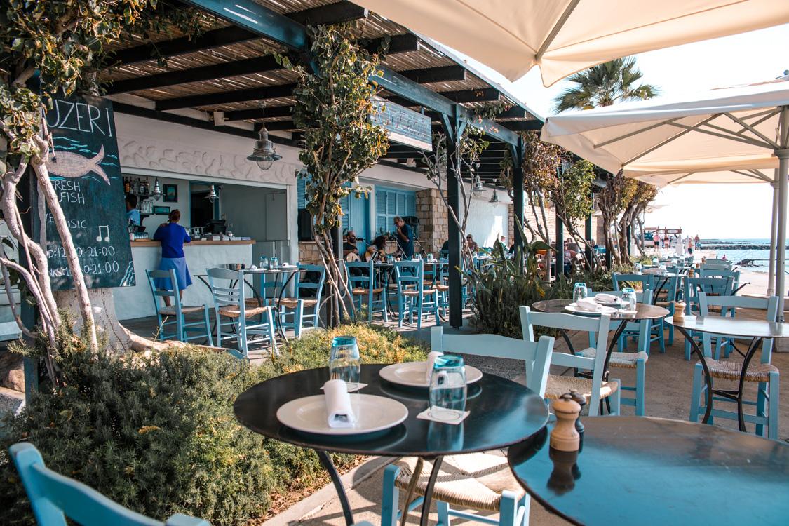 Ouzeri restaurant at Almyra Hotel, Paphos - Cyprus