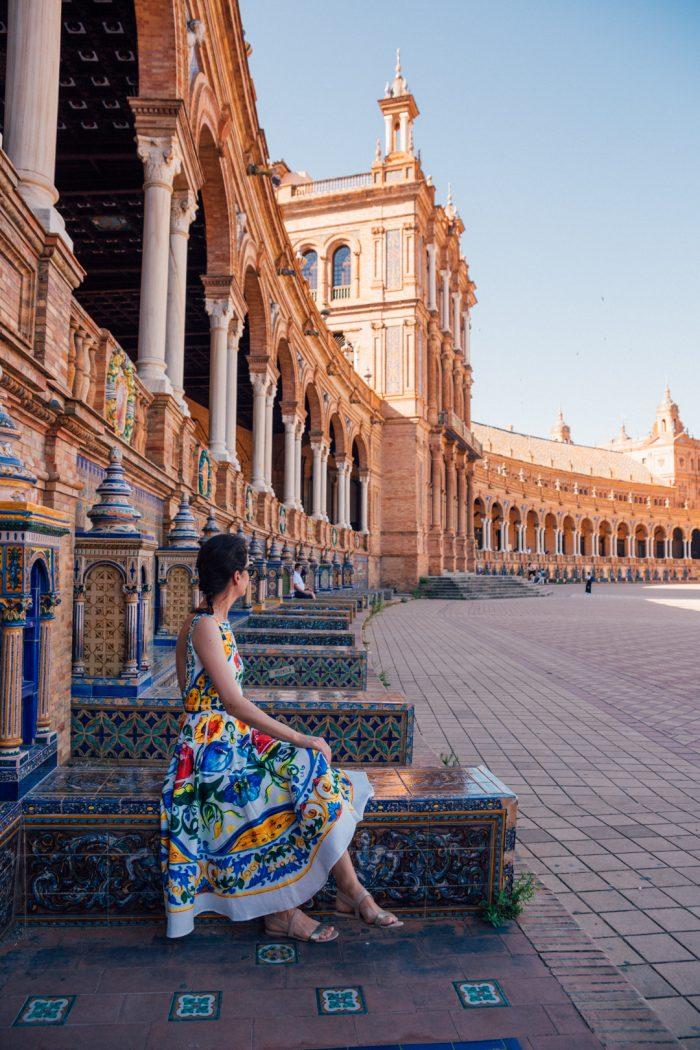The Venice of Spain: Plaza de España, Seville