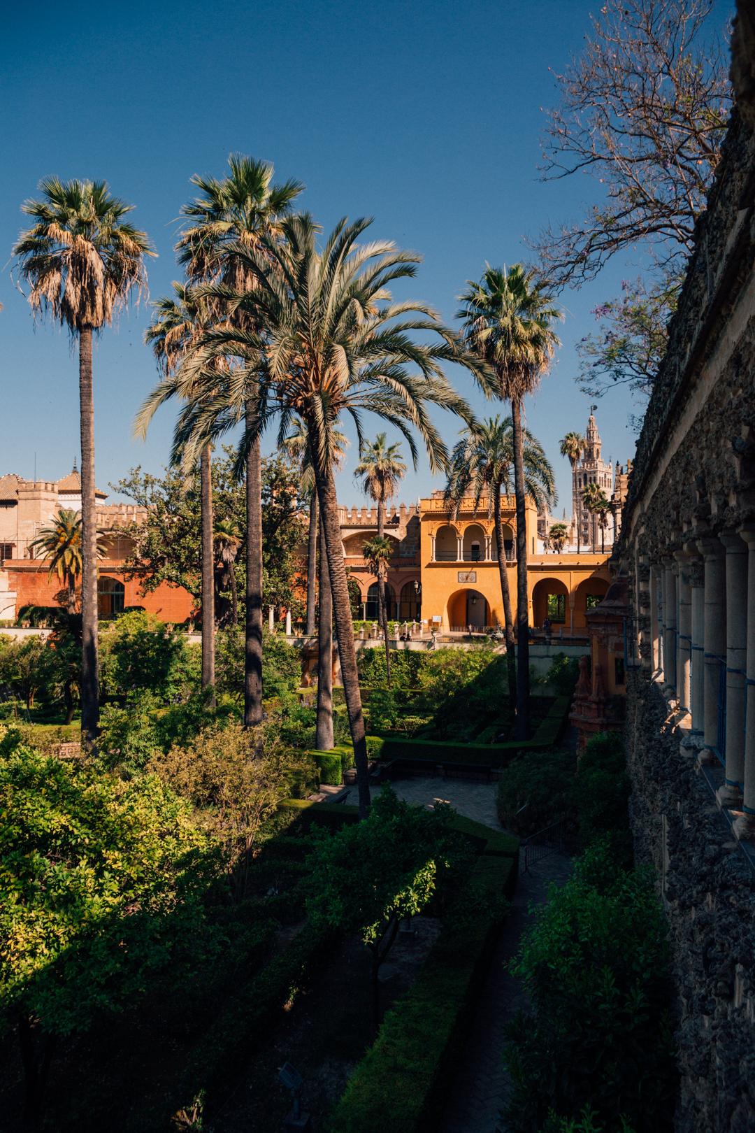 Visiting the Royal Alcazar of Seville