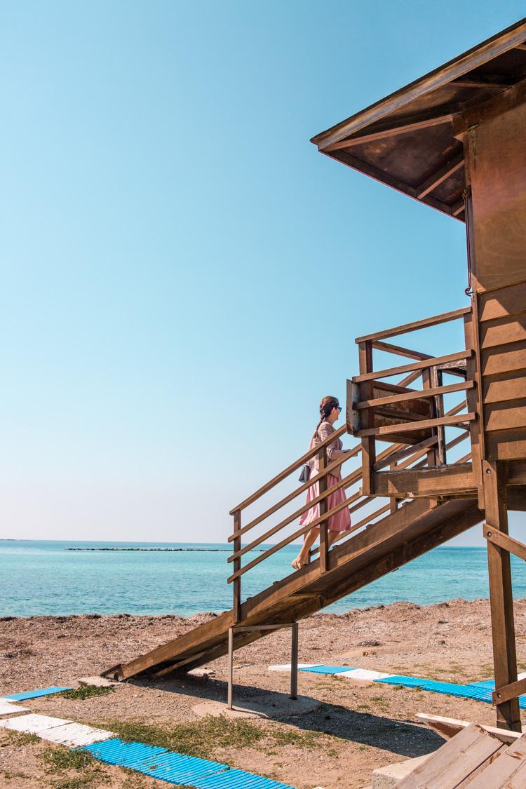 riccos beach paphos