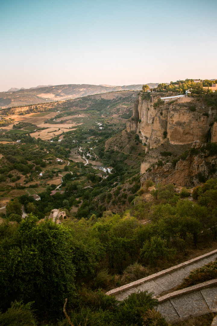 views in ronda, andalusia