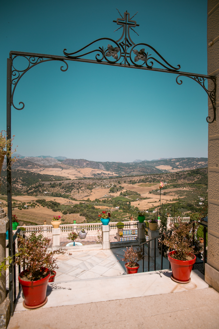 casa del bosco in Ronda, Andalusia - the entry to the garden