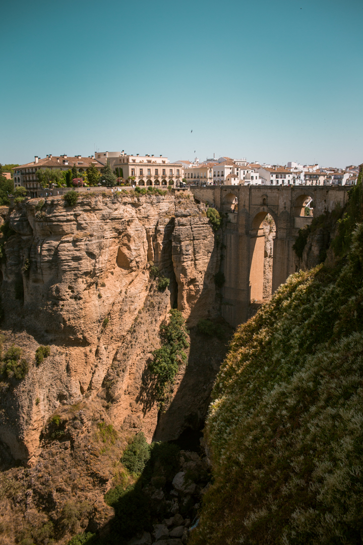 casa del bosco in Ronda, Andalusia - viewing platform views