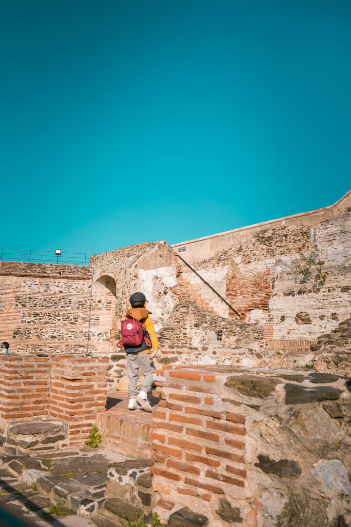 sohail castle in Fuengirola, Spain