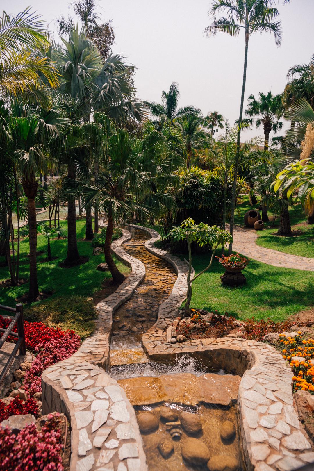 Molino de Inca Botanical Garden in Torremolinos
